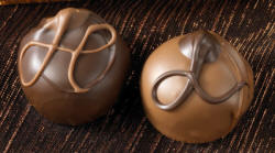 Distinctive Gift Ideas, Inc. | Double Chocolate and Fudge Love Truffles